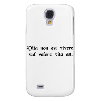 Life is more than merely staying alive galaxy s4 covers