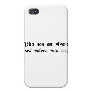 Life is more than merely staying alive. iPhone 4/4S case