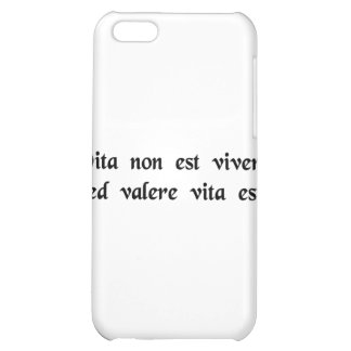 Life is more than merely staying alive iPhone 5C cases