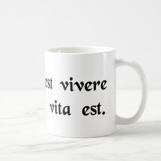 Life is more than merely staying alive. mugs