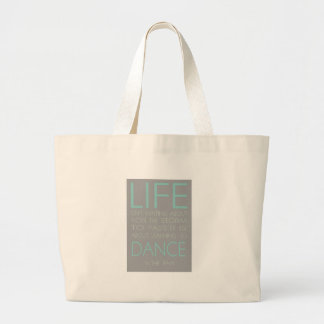 Life is Not About Waiting For The Storm To Pass It Tote Bag