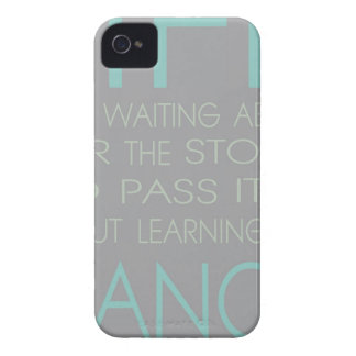 Life is Not About Waiting For The Storm To Pass It iPhone 4 Case