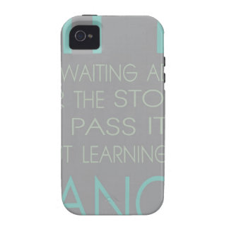 Life is Not About Waiting For The Storm To Pass It iPhone 4/4S Case