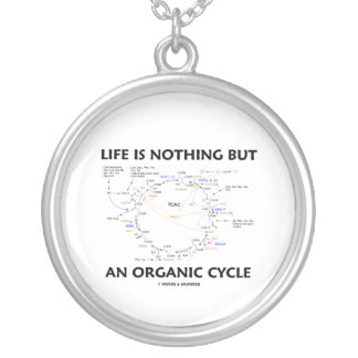 Life Is Nothing But An Organic Cycle Krebs Cycle Necklace