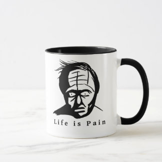 Life is Pain - Dark Humour  Mug