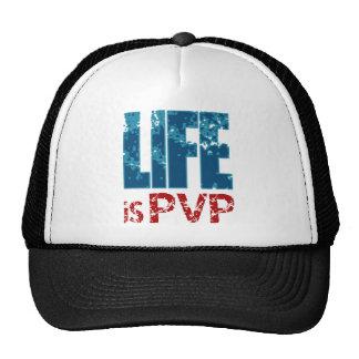 Life is PVP Gamer Design Cap