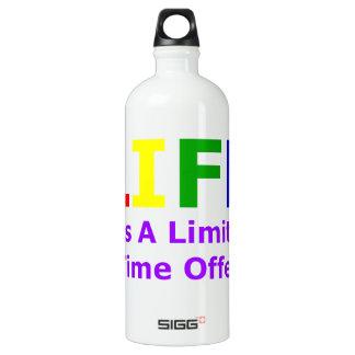 Life Is Short SIGG Traveler 1.0L Water Bottle