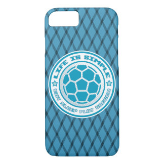 Life is Simple, Play Soccer Mobile Cover