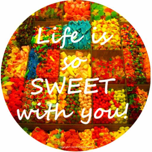 Life Is So Sweet With You Photo Sculptures
