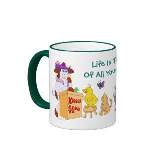 Life Is The Sum Of All Your Choices Ringer Mug
