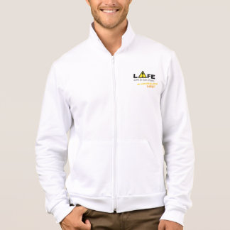 Life is too short, do something good today! jacket