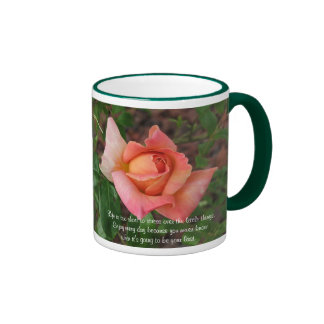 Life Is Too Short To Stress - Rose Mug