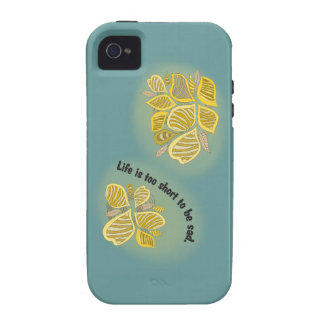 life is too short tons of BE sad iPhone 4 Cases