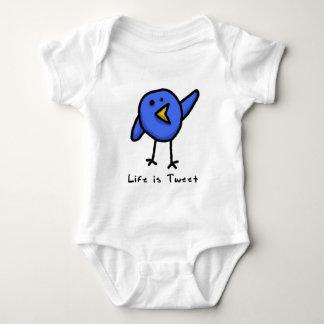 """Life is Tweet"" Infant Creeper"