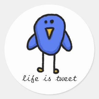 life is tweet sticker