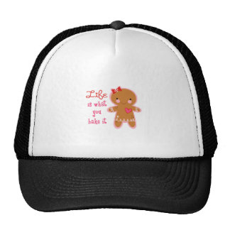 Life is what you bake it mesh hats