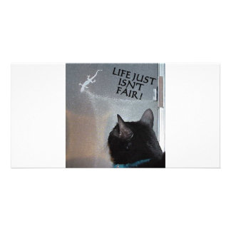LIFE ISN T FAIR PERSONALIZED PHOTO CARD