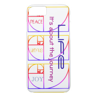 Life - It's about the Journey iPhone 7 Case
