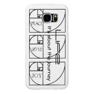 Life - It's about the Journey Samsung Galaxy S6 Cases