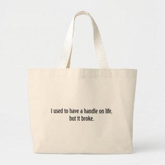 Life Jumbo Tote Bag