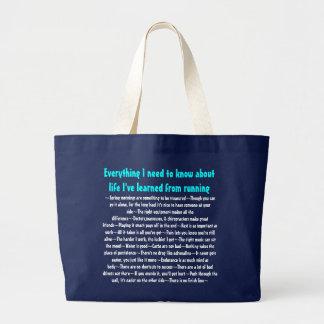 Life lessons tote bag