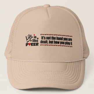 Life Like Poker hat