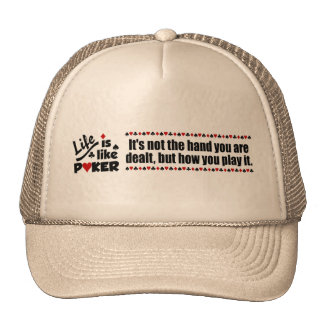 Life Like Poker hat