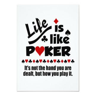 Life Like Poker invitation
