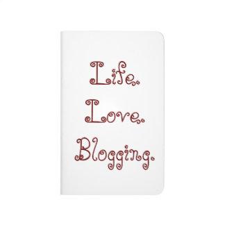 Life. Love. Blogging. Pocket Journal