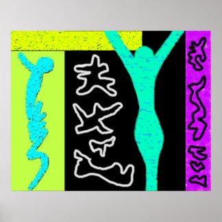 Life ~ Modern Art ~  Modern colourful Posters