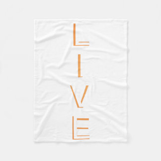 Life Modern Cool Color Fleece Blanket