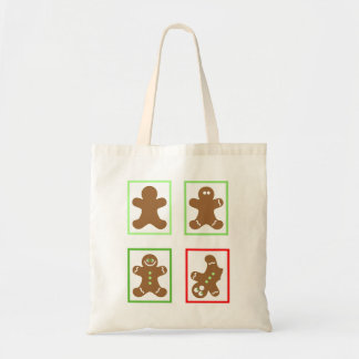 Life of a Gingerbread man Budget Tote Bag