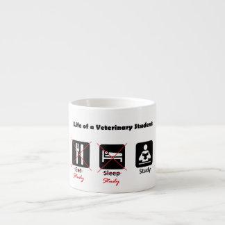 Life of a Veterinary Student Espresso Mug