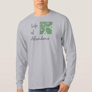 Life of Abundance. Men's long sleeve. T-Shirt