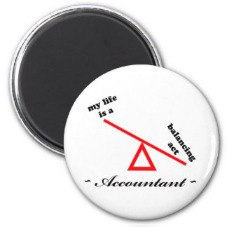 Life of an Accountant Magnet