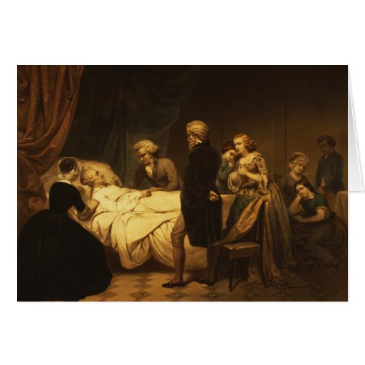 Life of George Washington The Christian Death Greeting Cards