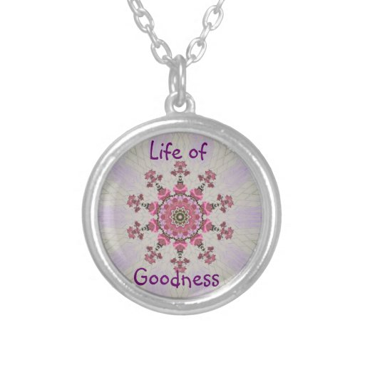 Life of goodness necklace
