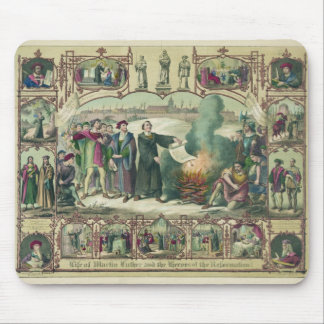 Life of Martin Luther & Heroes of the Reformation Mousepad