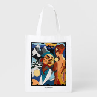 Life of Roy Reusable Grocery Bags