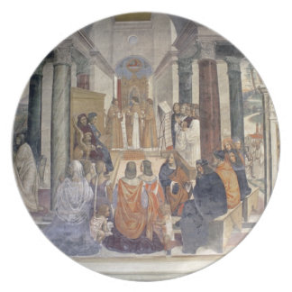 Life of St. Benedict (fresco) (detail) Plate