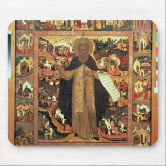 Life of St. Sergius of Radonesh, 1640s Mouse Pad
