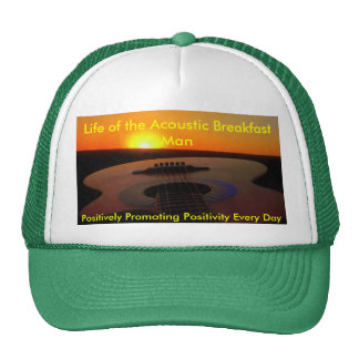 Life of the Acoustic Breakfast Man Cap