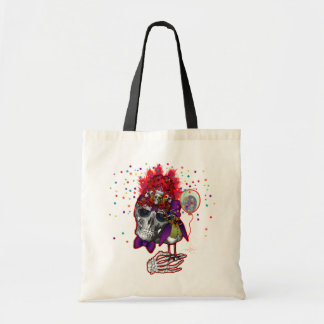 Life Of The Party Skull Budget Tote Bag