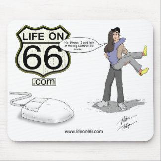 Life On 66 Mousepad
