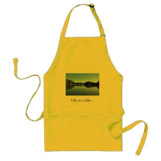 Life on a lake Apron