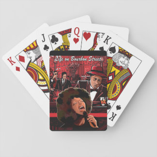 Life on Bourbon Street Playing Cards, Music Theme Playing Cards