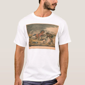 Life on Prairie: Trapper's Defence (0879A) T-Shirt