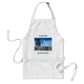 Life on the Los Angeles Freeway Adult Apron