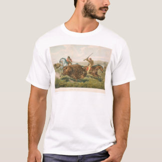 Life on the Prairie: The Buffalo Hunt (0878A) T-Shirt