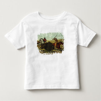 Life on the Prairie - the Buffalo Hunt, 1862 Toddler T-Shirt